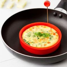 Round Shape Silicone Omelette Mould Shape for Eggs Frying Pancake Cooking Mould Breakfast Essential