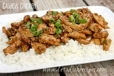 This cashew chicken is so easy and comes together in about 20 minutes--just remember to start your rice well ahead of time if you're planning to serve that as a side dish. To toast your cashews, c...