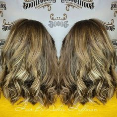 Holy Hair Painting Cream Soda Blonde Hair Painted Highlights #lobhaircut #hairpainting #blondehandpaintedhighlights #blondehighlights #getyourshineon #bootleggersbeautysalon #burlingtonncsalon #joico