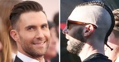 Adam Levine Hairstyles for Guys Adam Levine S Cornrows and Shaved Head are Just A Lot to Process Great Haircuts, Cool Hairstyles For Men, Mohawk Hairstyles, Adam Levine Haircut, Adam Levine Style, Mohawk Braid, Shaved Head, Cornrows, Cut And Color