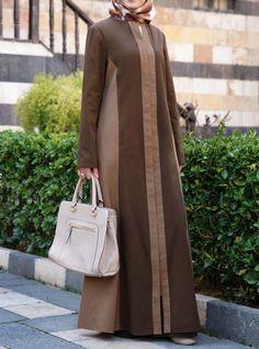 Dual Colored Jilbab