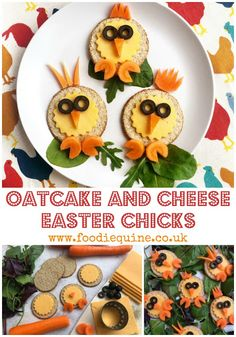 Oh so cute Oatcake and Cheese Easter Chicks Easter Recipes, My Recipes, Scottish Tablet, Unicorn Egg, Fridge Cake, Food Art For Kids, No Egg Pancakes, Creme Egg, Tea Cakes