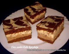 2012 december – Oldal 2 Hungarian Desserts, Hungarian Cake, Hungarian Recipes, Hungarian Food, Cake Recipes, Dessert Recipes, Tiramisu, Deserts, Food And Drink