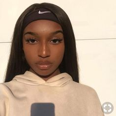ISEE HAIR Straight Lace Frontal Wigs Human Virgin Hair Wigs Shiny straight hair wig for back girl enjoy discount now Frontal Hairstyles, Baddie Hairstyles, Black Girls Hairstyles, Straight Hairstyles, Funky Hairstyles, Pretty Black Girls, Black Is Beautiful, Beautiful Lips, Black Girl Makeup Natural