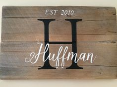 A personal favorite from my Etsy shop https://www.etsy.com/listing/451088450/monogram-barn-wood-rustic-wedding-or