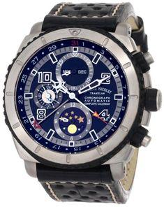6147e60068c Men Watches Armand Nicolet Men s T618A-GR-P760NR4 S05 Sporty Automatic  Titanium Watch