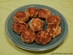 Pork Croquettes Gluten Free  --- good way to use leftovers!