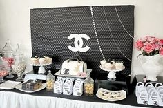 Chanel Theme 21st Birthday Party Pictures, Photos, and Images for Facebook, Tumblr, Pinterest, and Twitter
