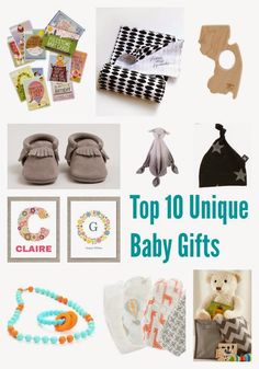 Top 10 Unique Baby Gifts via @thechirpingmoms