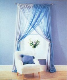 That is an epic window treatment i didn 39 t know until now for Cortinas decorativas