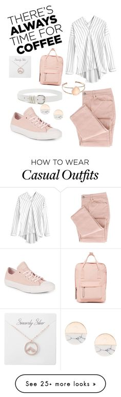 """Casual Coffee Time"" by butterscotchbrouill on Polyvore featuring Converse, Madden Girl, Forever 21 and CoffeeDate"