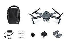 DJI Mavic Pro Fly More Bundle, Mini Portable Drones, Gray