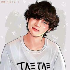Bts Taehyung, Taehyung Fanart, Bts Jimin, Taehyung Photoshoot, Anime Wolf, Foto Bts, V Chibi, V Bts Wallpaper, Kpop Drawings