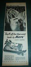 Mars CHRISTMAS CHOCOLATE SELECTION BOX - 1950`S
