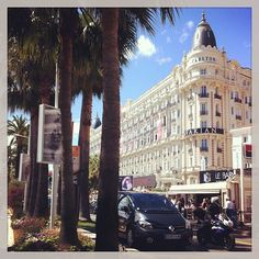 Cannes, French Riviera (on the busy Croisette). Spent some wonderful time in Cannes! ♥♥♥
