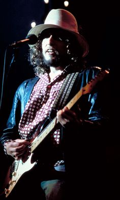 Bob Dylan, from The Last Waltz.