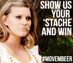 DON'T FORGET: We're giving away a Beer Loves You Prize Pack to the fan with the best moustache or beard! The enter, follow BeerLovesRDU on Instagram and post your picture with the hashtag #MOVEMBEER. For an extra entry, pose with your favorite beer!