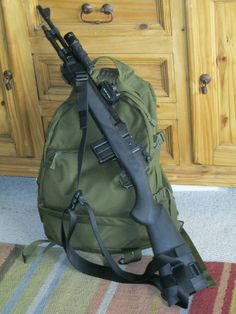 This is a custom tactical Ruger It was purchased new in California. This is the Ruger series) Ranch Rifle, chambered in Remington. Tactical Rifles, Tactical Survival, Survival Gear, Firearms, Shotguns, Armas Wallpaper, Scout Rifle, Mini 14, Hunting Rifles