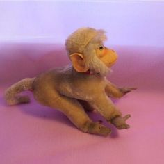 "Large 9"" Steiff Monkey / Baboon - Bella May Dolls #dollshopsunited"