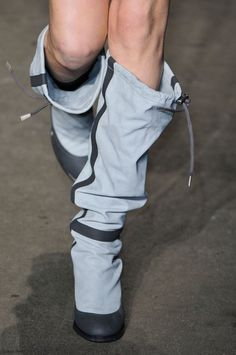 Boots 2014 trend report - right from runways! The latest collections feature above-the-knee, slouchy, fur, lace-up and printed #boots 2014 trends#! Check them out!