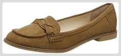 Dorothy Perkins Damen Liana Plait Slipper, Braun, 36.5 EU - Slipper und mokassins für frauen (*Partner-Link)