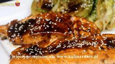 Przepis Video na Łososia Teriyaki - Jeden z ciekawszych sposobów na przygotowanie tej wspaniałej ryby, słodko - słona nuta nadaje azjatyckiego charakteru, smakowało - Zostaw nam swój feedback :)