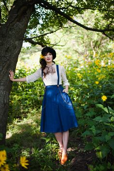 Madeleine Skirt. Making your own clothes + Awesome patterns = Victory Patterns downloadable sewing patterns. This is next on my list.