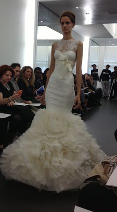 Vera Wang Fall 2013 Bridal Collection. 212 872 8957.  Follow us on #facebook:  http://www.facebook.com/MODEBayArea