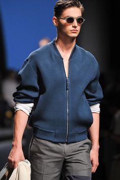 Ermenegildo Zegna Spring 2014 Menswear #jacket
