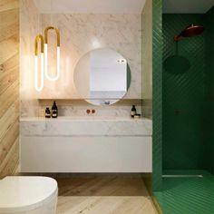 kleine zimmerdekoration badezimmer idee grun, 647 best badezimmer ideen – fliesen, leuchten, dekoration images on, Innenarchitektur