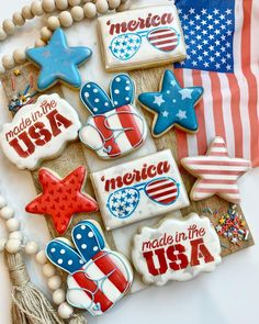 4th Of July, Rolls, Sweets, Sugar Cookies, Desserts, Instagram, Food, Tailgate Desserts, Deserts