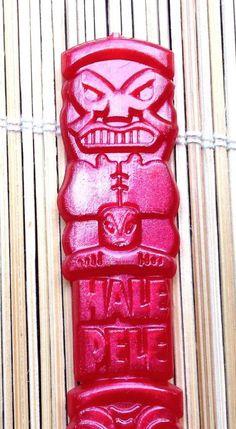 HALE PELE tiki bar cocktail swizzle stir red totem Portland Oregon