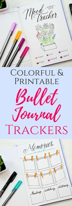 Mood tracker, habit tracker, bullet journal memories, gratitude log. #bulletjournaltracker #bulletjournaling