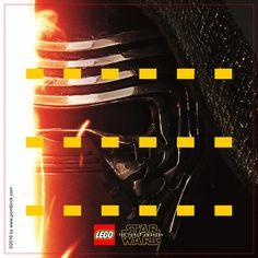 LEGO Minifigures Star Wars Kylo Ren - Display Frame Background 230mm - Clicca sull'immagine per scaricarla gratuitamente!