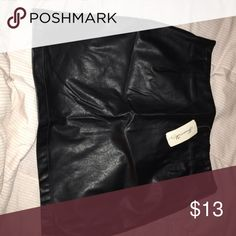 Leather skirt Leather fitted skirt Forever 21 Skirts Mini