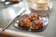 serve syrniki with smetana and honey - yum!