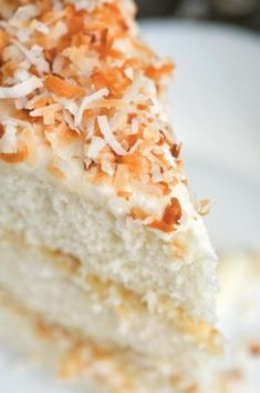Bring this Coconut Layer Cake to your next get together. It's sure to be a hit!