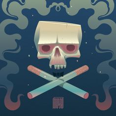 Smoking Party on Behance