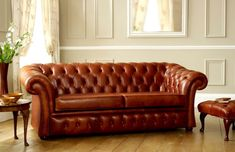Pemberton Chesterfield Sofa Bed | Leather Chesterfield Sofas