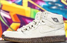 "Air Jordan 1 ""Suede Wood"" Sample 1"