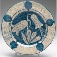 Dedham Pottery plate