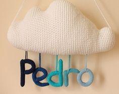 Porta maternidade nuvem