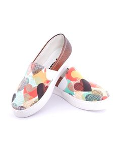 Streetfly Dámské slip-on boty - Colourful Slip On, Sneakers, Shoes, Products, Fashion, Tennis, Moda, Slippers, Zapatos