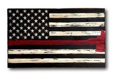 Fireman's American Flag