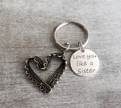 Love You Like a Sister  by Beth Byrd on Etsy