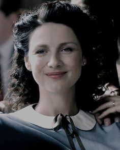 """The Battle Joined """"""""Dean Jackson, I don't believe I mentioned my wife was a combat nurse with Royal Army Medical Corps during the war. Outlander Season 3, Outlander Book Series, Outlander 3, Starz Series, Claire Fraser, Jamie And Claire, Dean Jackson, My Wife Is, Medieval Dress"""