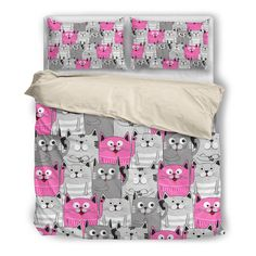 The Happy Cats Bedding Set