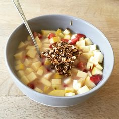 What's the #best #Cereal for #breakfast? #fruuuuits  With #quick #homemade #Granola #recipe https://youtu.be/SWV_b0SHmAs