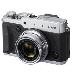 Fuji Film X30 Silver Digital Camera