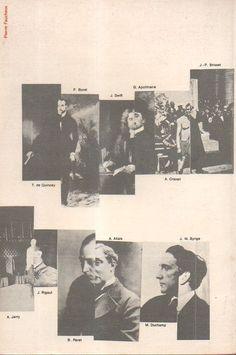 Back cover of Anthologie de L'Humour Noir, by André Breton, (1940) 1966 reissue